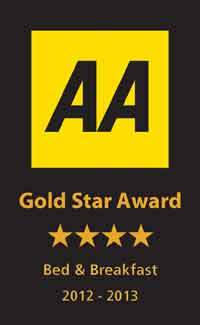 B&B 4star Gold Star Award