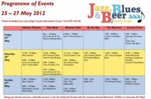 Lyme Regis Jazz Festival 2012