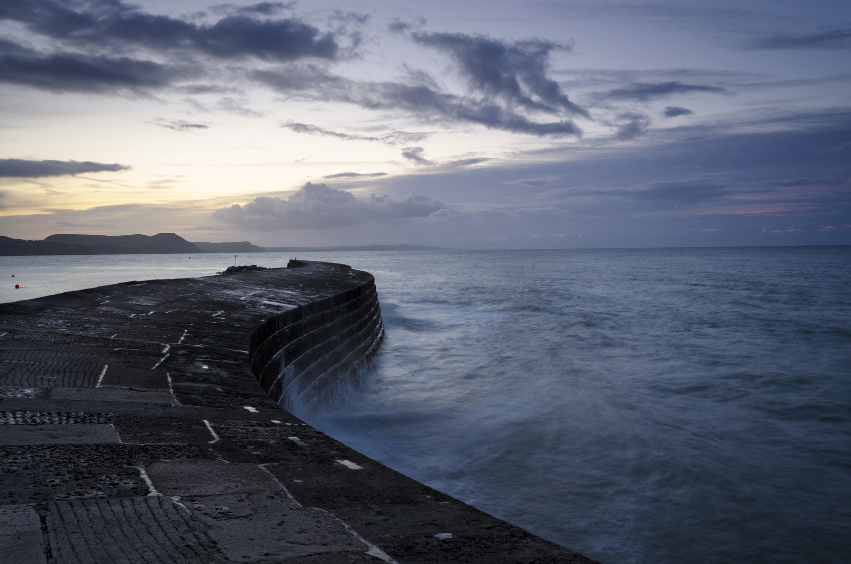 The Cobb at Lyme Regis