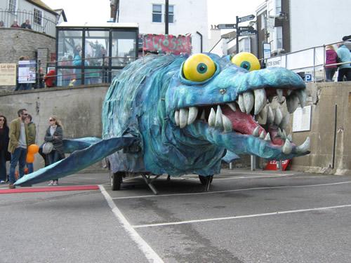 ichthyosaur-model